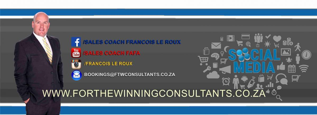 Contact Francois le Roux on all social media networks.